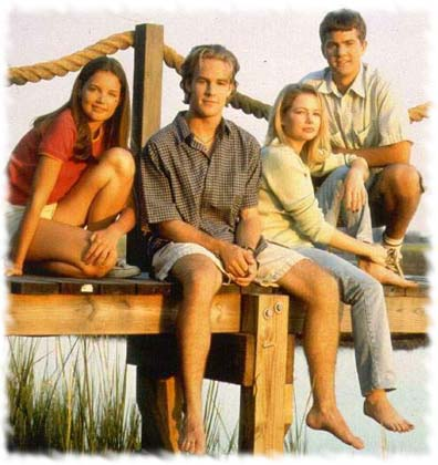 Who knew then that Van Der Beek would be the least relevant of these four by now? Actually, probably everyone.