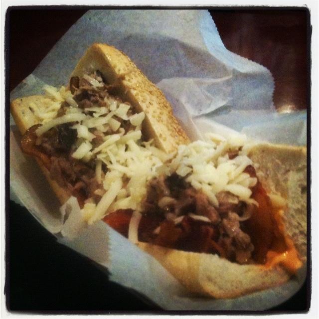 The 50/50 from Jake's Sandwich Board, Philadelphia.