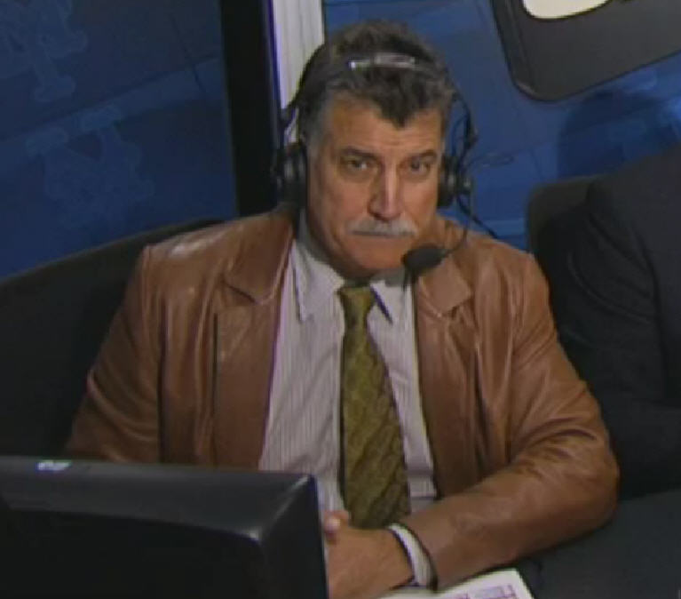 Here's what Keith Hernandez looks like in a leather blazer.