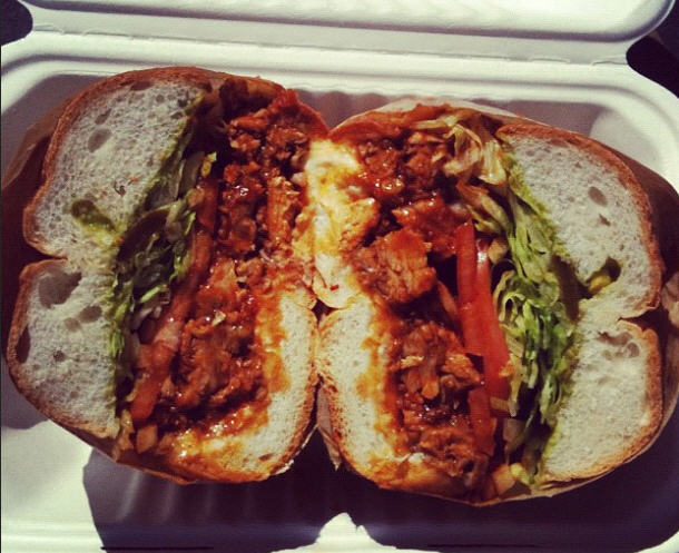Adobo torta from Mexico Blvd.