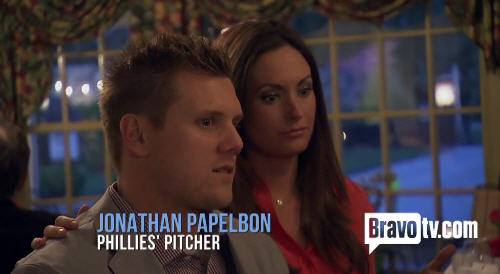 This is Jonathan Papelbon's thoughtful face.