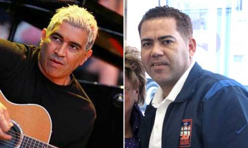 Pat Smear (left) and Edgardo Alfonzo (right)