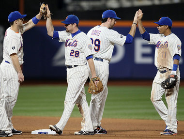 Here's what several young and youngish Mets look like.