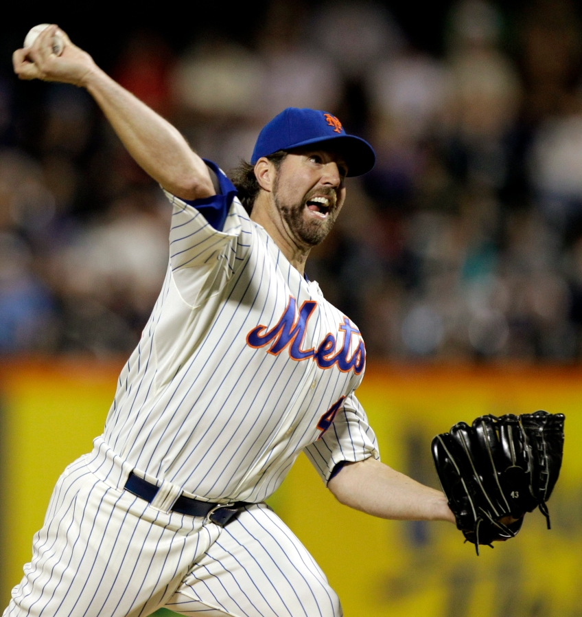 Here's what R.A. Dickey looks like.