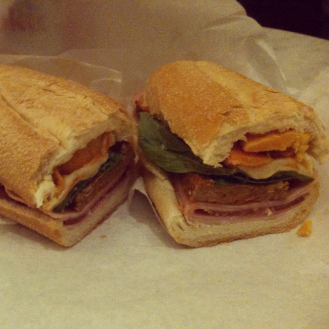 The Godfather Part II from No. 7 Sub shop.