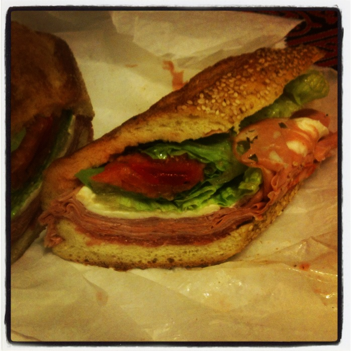 Milano Special from Milano Market, Manhattan.